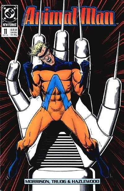 Animal Man #11 Comic Books - Covers, Scans, Photos  in Animal Man Comic Books - Covers, Scans, Gallery