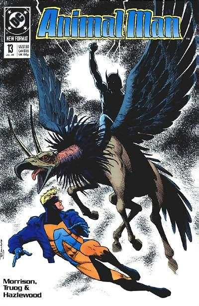 Animal Man #13 Comic Books - Covers, Scans, Photos  in Animal Man Comic Books - Covers, Scans, Gallery