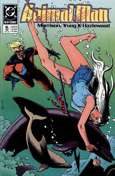 Animal Man #15 comic books - cover scans photos Animal Man #15 comic books - covers, picture gallery