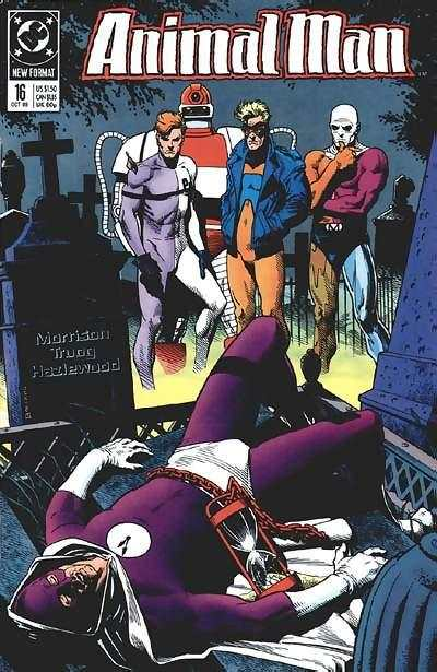 Animal Man #16 Comic Books - Covers, Scans, Photos  in Animal Man Comic Books - Covers, Scans, Gallery