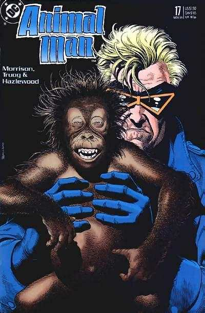 Animal Man #17 Comic Books - Covers, Scans, Photos  in Animal Man Comic Books - Covers, Scans, Gallery