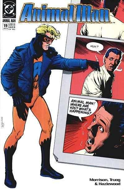 Animal Man #19 Comic Books - Covers, Scans, Photos  in Animal Man Comic Books - Covers, Scans, Gallery