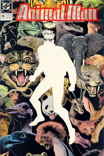 Animal Man #18 Comic Books - Covers, Scans, Photos  in Animal Man Comic Books - Covers, Scans, Gallery