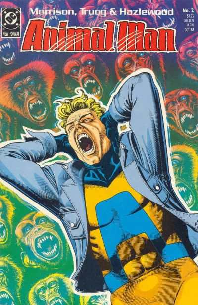 Animal Man #2 Comic Books - Covers, Scans, Photos  in Animal Man Comic Books - Covers, Scans, Gallery