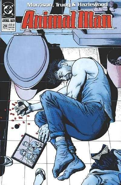 Animal Man #20 Comic Books - Covers, Scans, Photos  in Animal Man Comic Books - Covers, Scans, Gallery