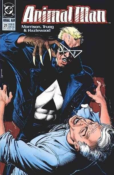 Animal Man #21 Comic Books - Covers, Scans, Photos  in Animal Man Comic Books - Covers, Scans, Gallery