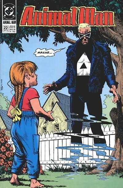 Animal Man #22 comic books - cover scans photos Animal Man #22 comic books - covers, picture gallery