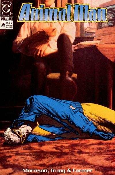 Animal Man #26 comic books - cover scans photos Animal Man #26 comic books - covers, picture gallery