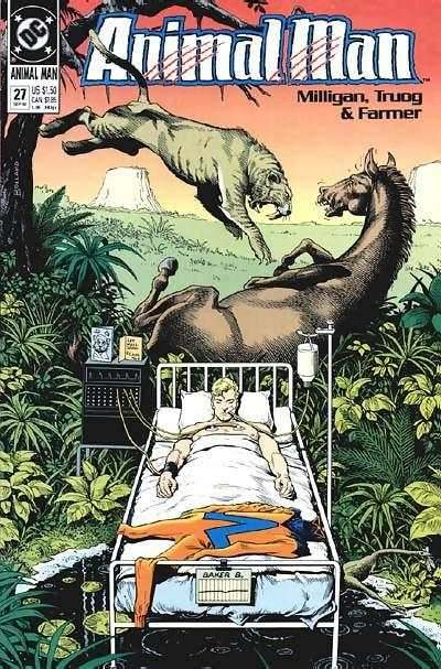 Animal Man #27 comic books for sale