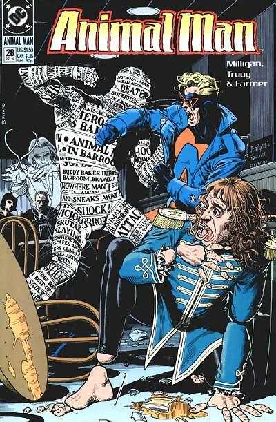 Animal Man #28 Comic Books - Covers, Scans, Photos  in Animal Man Comic Books - Covers, Scans, Gallery