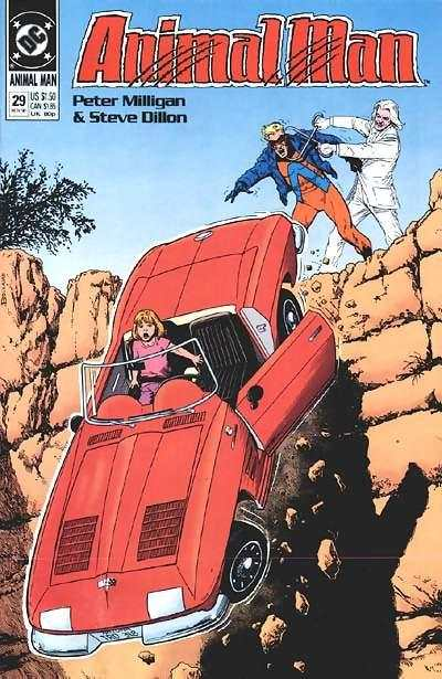 Animal Man #29 comic books - cover scans photos Animal Man #29 comic books - covers, picture gallery