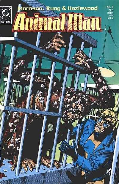 Animal Man #3 Comic Books - Covers, Scans, Photos  in Animal Man Comic Books - Covers, Scans, Gallery