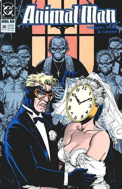 Animal Man #30 Comic Books - Covers, Scans, Photos  in Animal Man Comic Books - Covers, Scans, Gallery