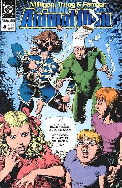 Animal Man #31 Comic Books - Covers, Scans, Photos  in Animal Man Comic Books - Covers, Scans, Gallery