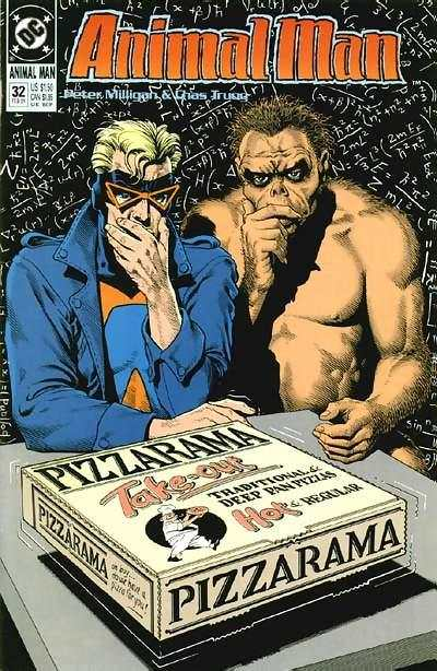 Animal Man #32 Comic Books - Covers, Scans, Photos  in Animal Man Comic Books - Covers, Scans, Gallery