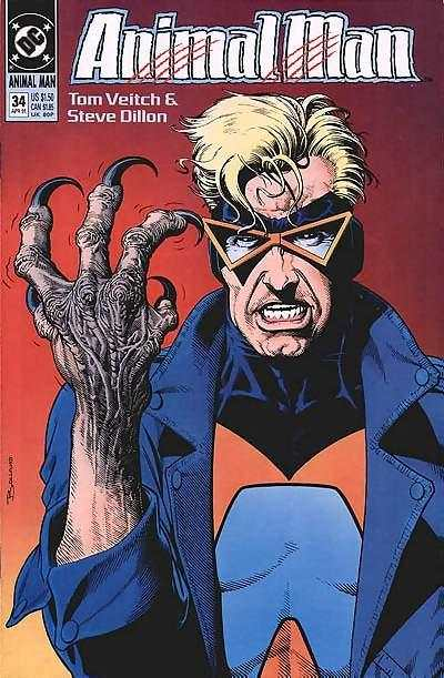 Animal Man #34 Comic Books - Covers, Scans, Photos  in Animal Man Comic Books - Covers, Scans, Gallery