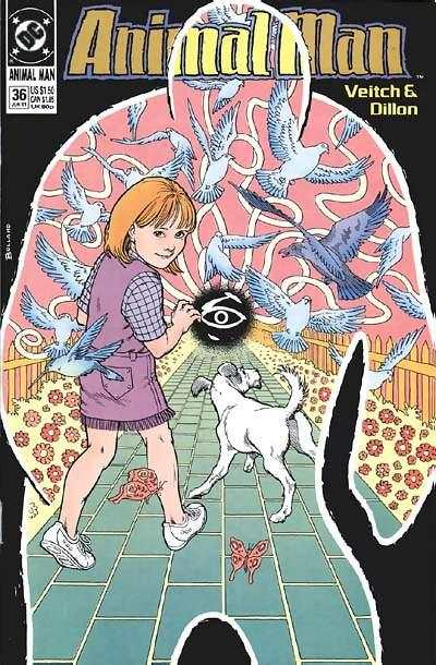 Animal Man #36 Comic Books - Covers, Scans, Photos  in Animal Man Comic Books - Covers, Scans, Gallery