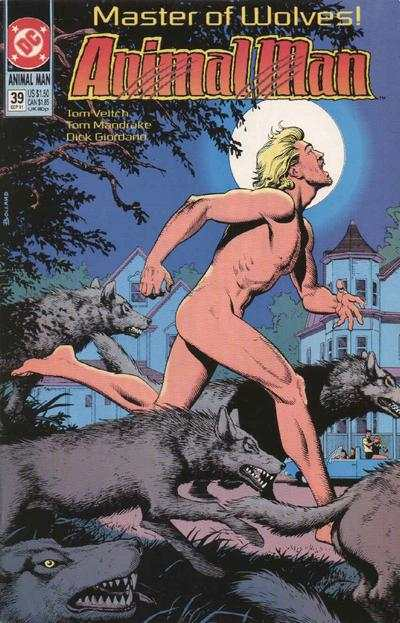 Animal Man #39 Comic Books - Covers, Scans, Photos  in Animal Man Comic Books - Covers, Scans, Gallery