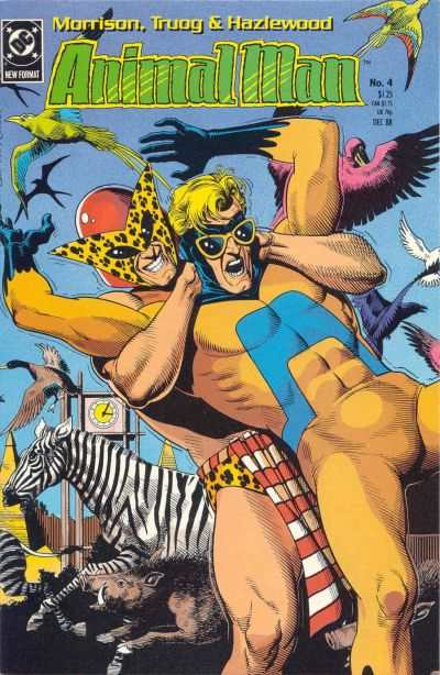 Animal Man #4 Comic Books - Covers, Scans, Photos  in Animal Man Comic Books - Covers, Scans, Gallery