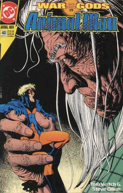 Animal Man #40 Comic Books - Covers, Scans, Photos  in Animal Man Comic Books - Covers, Scans, Gallery