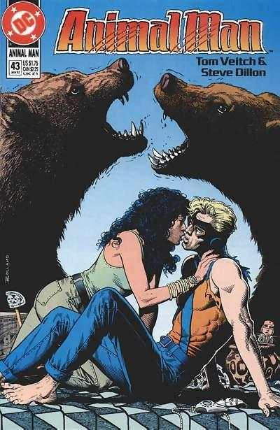 Animal Man #43 Comic Books - Covers, Scans, Photos  in Animal Man Comic Books - Covers, Scans, Gallery