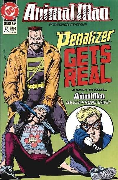 Animal Man #45 Comic Books - Covers, Scans, Photos  in Animal Man Comic Books - Covers, Scans, Gallery