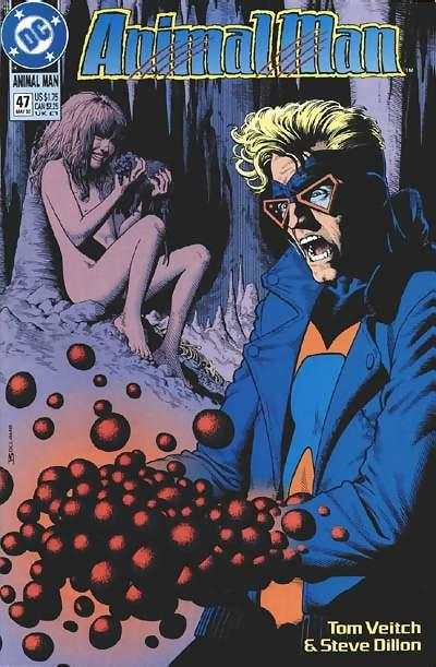 Animal Man #47 comic books - cover scans photos Animal Man #47 comic books - covers, picture gallery