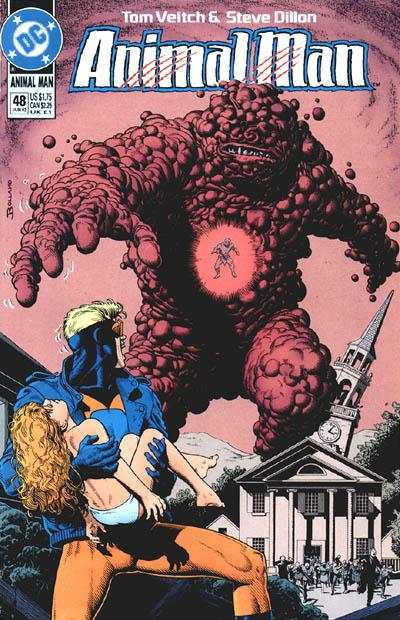 Animal Man #48 comic books - cover scans photos Animal Man #48 comic books - covers, picture gallery