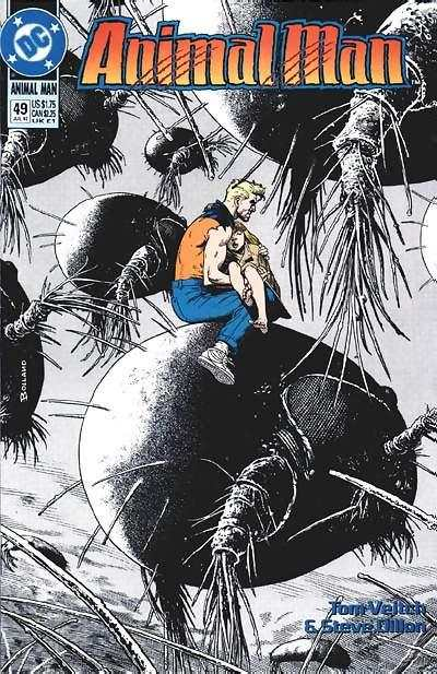 Animal Man #49 Comic Books - Covers, Scans, Photos  in Animal Man Comic Books - Covers, Scans, Gallery