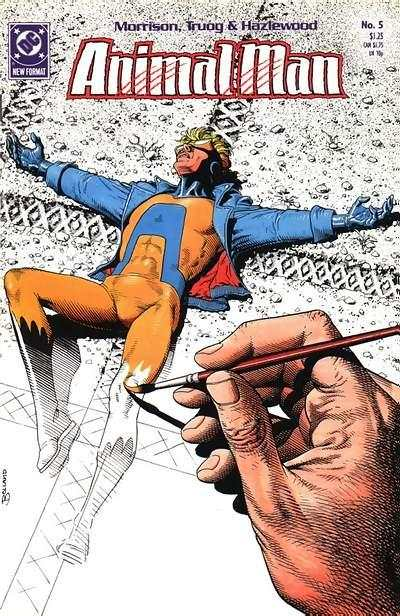 Animal Man #5 comic books - cover scans photos Animal Man #5 comic books - covers, picture gallery