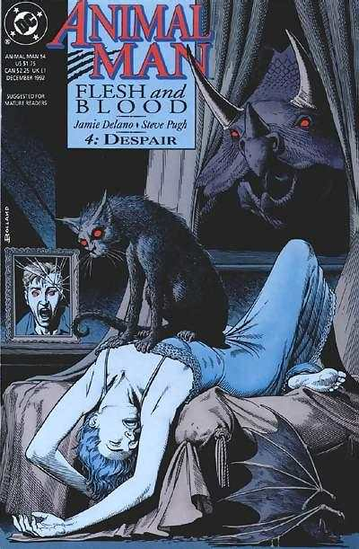 Animal Man #54 comic books - cover scans photos Animal Man #54 comic books - covers, picture gallery