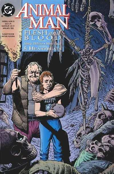 Animal Man #55 comic books - cover scans photos Animal Man #55 comic books - covers, picture gallery