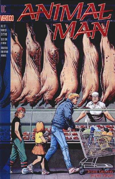 Animal Man #57 Comic Books - Covers, Scans, Photos  in Animal Man Comic Books - Covers, Scans, Gallery