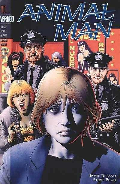Animal Man #58 Comic Books - Covers, Scans, Photos  in Animal Man Comic Books - Covers, Scans, Gallery