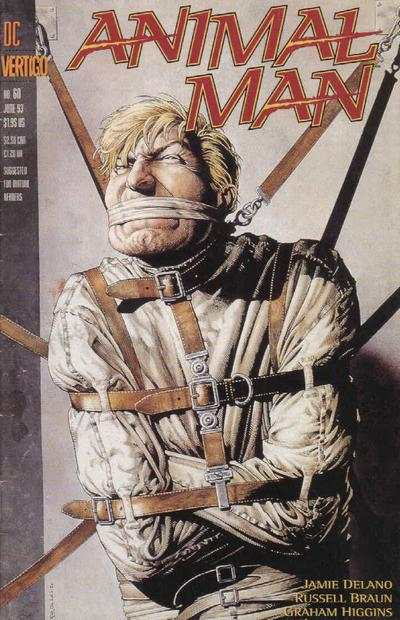 Animal Man #60 comic books - cover scans photos Animal Man #60 comic books - covers, picture gallery
