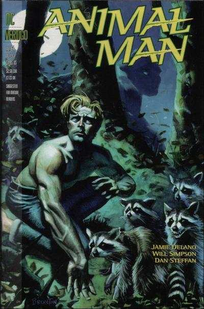 Animal Man #64 Comic Books - Covers, Scans, Photos  in Animal Man Comic Books - Covers, Scans, Gallery