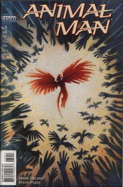 Animal Man #79 comic books - cover scans photos Animal Man #79 comic books - covers, picture gallery