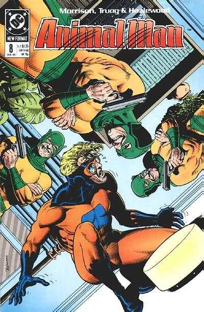 Animal Man #8 Comic Books - Covers, Scans, Photos  in Animal Man Comic Books - Covers, Scans, Gallery
