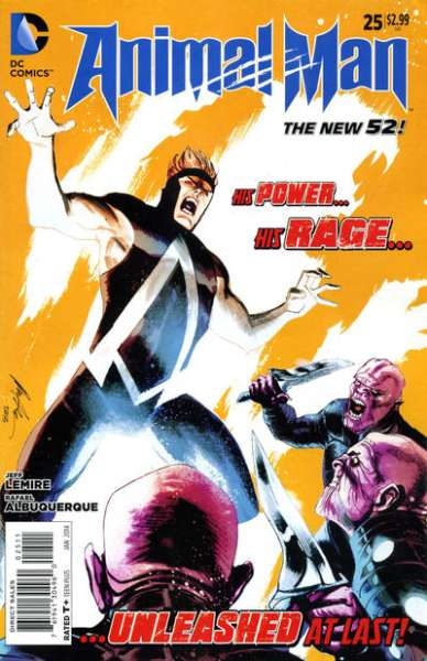 Animal Man #25 Comic Books - Covers, Scans, Photos  in Animal Man Comic Books - Covers, Scans, Gallery