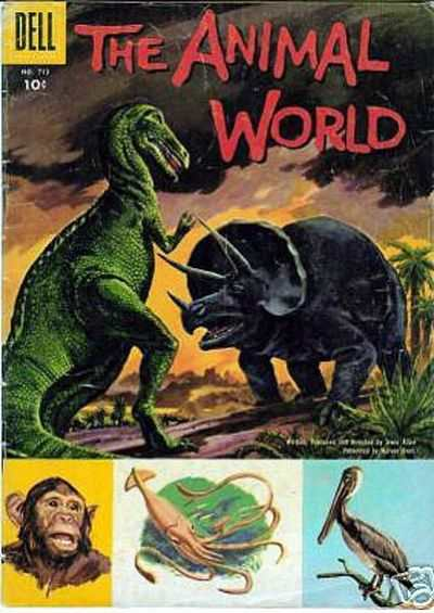 Animal World comic books