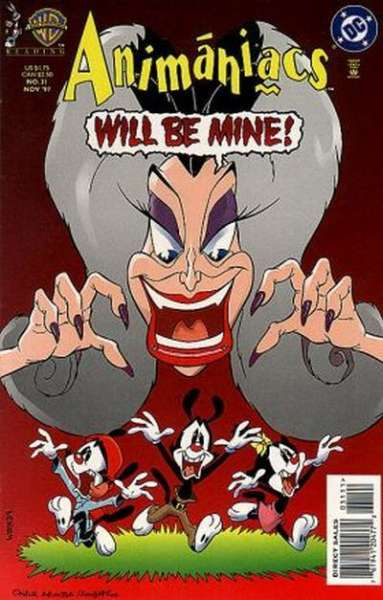 Animaniacs #31 comic books - cover scans photos Animaniacs #31 comic books - covers, picture gallery