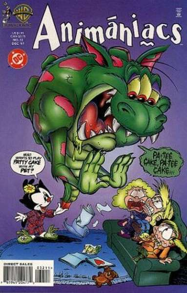 Animaniacs #32 comic books - cover scans photos Animaniacs #32 comic books - covers, picture gallery