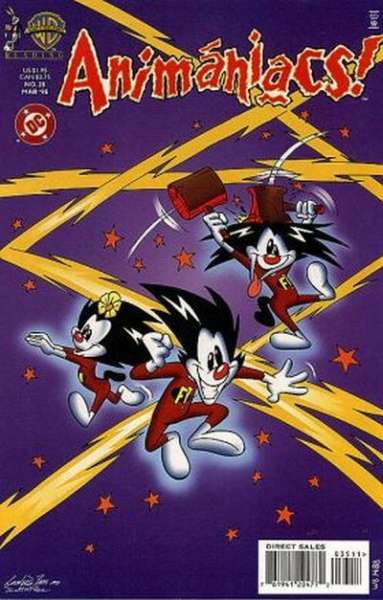 Animaniacs #35 Comic Books - Covers, Scans, Photos  in Animaniacs Comic Books - Covers, Scans, Gallery