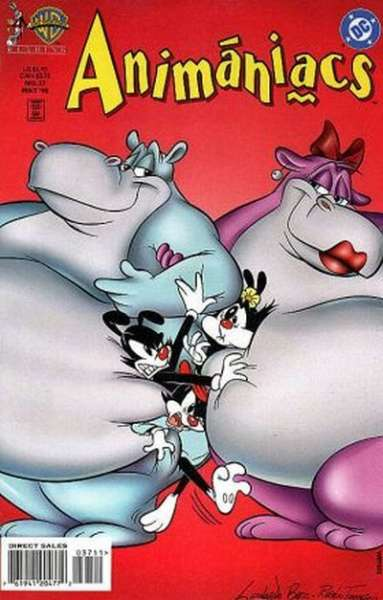 Animaniacs #37 comic books - cover scans photos Animaniacs #37 comic books - covers, picture gallery