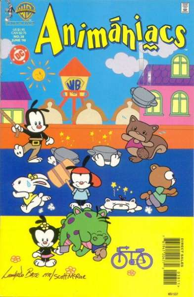 Animaniacs #38 comic books - cover scans photos Animaniacs #38 comic books - covers, picture gallery
