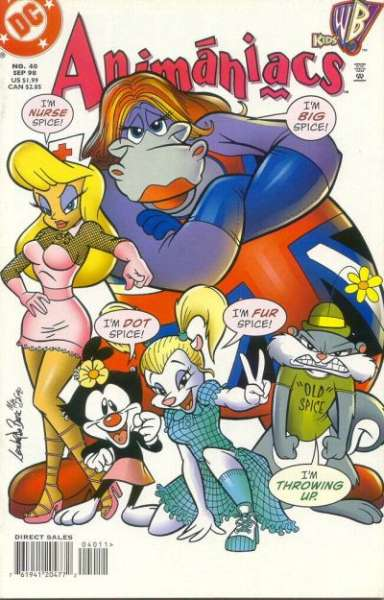 Animaniacs #40 comic books - cover scans photos Animaniacs #40 comic books - covers, picture gallery