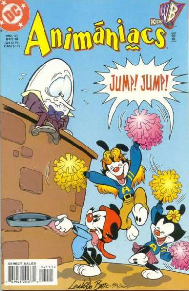 Animaniacs #41 Comic Books - Covers, Scans, Photos  in Animaniacs Comic Books - Covers, Scans, Gallery