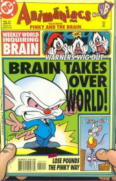 Animaniacs #44 Comic Books - Covers, Scans, Photos  in Animaniacs Comic Books - Covers, Scans, Gallery
