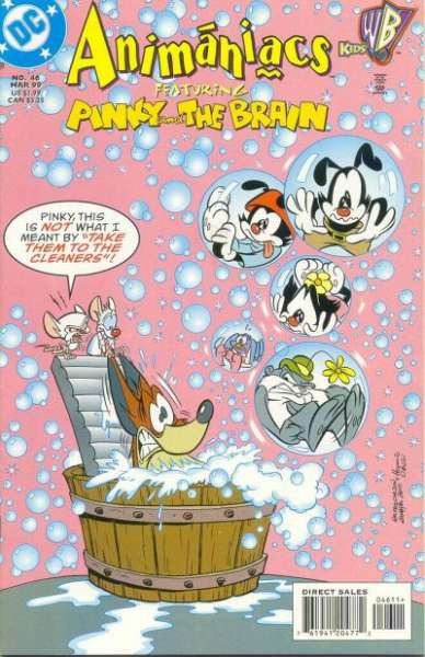 Animaniacs #46 Comic Books - Covers, Scans, Photos  in Animaniacs Comic Books - Covers, Scans, Gallery