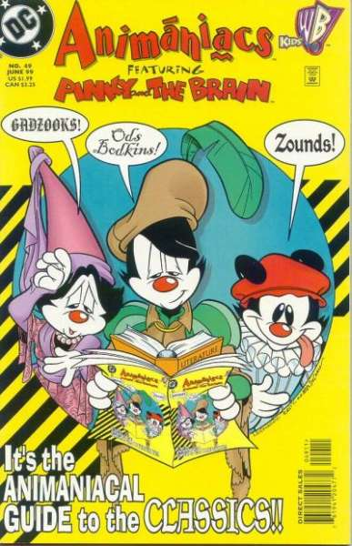 Animaniacs #49 comic books - cover scans photos Animaniacs #49 comic books - covers, picture gallery